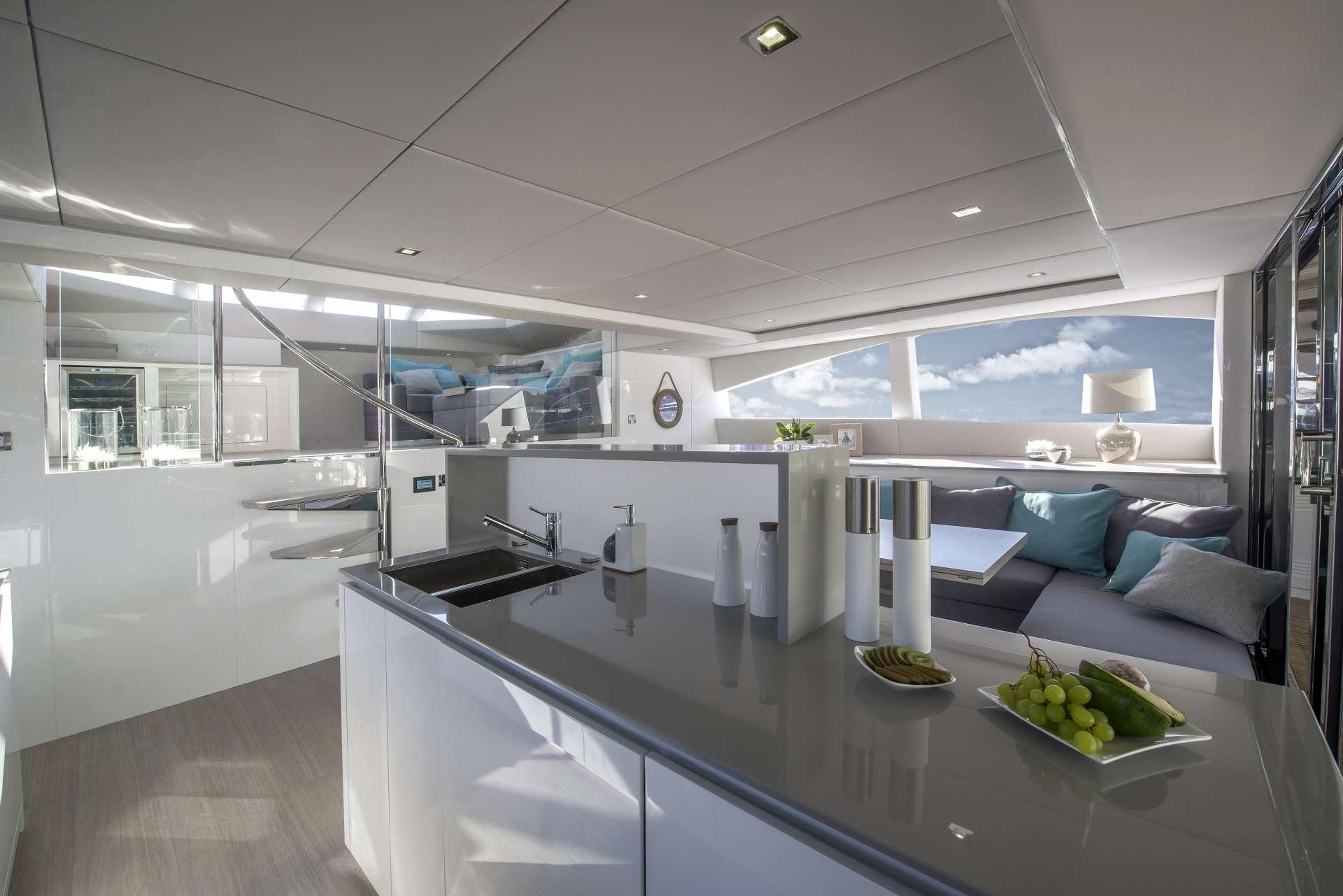 Cat Yacht 'Cat', 6 PAX, 2 Crew, 70.00 Ft, 21.00 Meters, Built 2016, Sunreef Yachts, Refit Year
