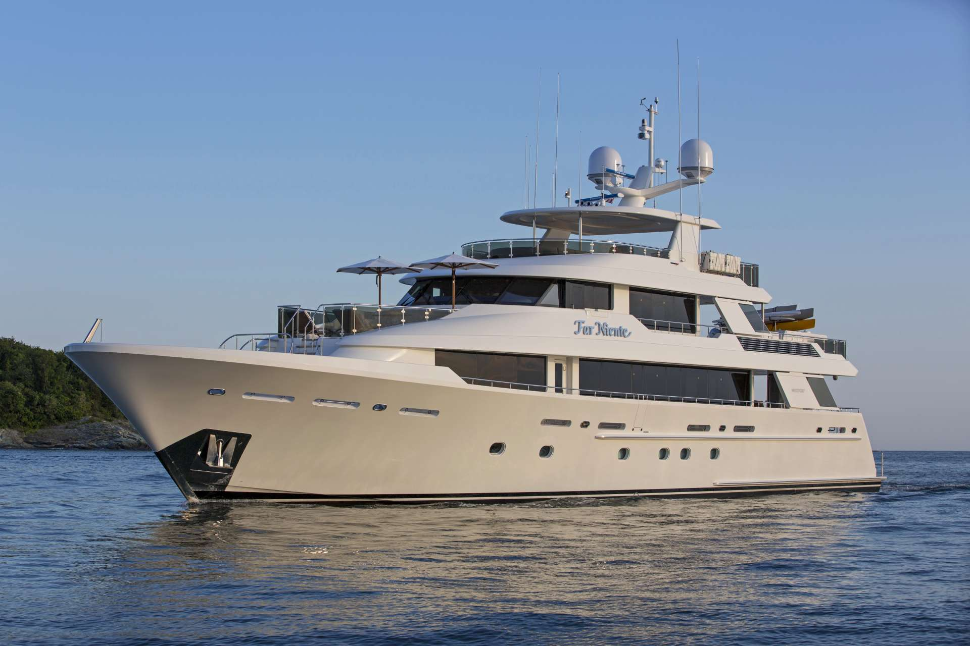 Power Yacht 'Power', 10 PAX, 7 Crew, 130.00 Ft, 39.00 Meters, Built 2014, Westport, Refit Year 2017