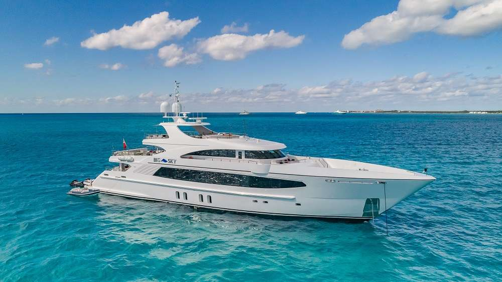 Power Yacht 'Power', 11 PAX, 10 Crew, 157.00 Ft, 47.00 Meters, Built 2010, Oceanfast, Refit Year 2018