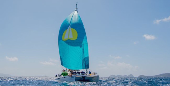 St. Thomas Yacht Charter Discount - Catamaran Steppin' Up - Yacht Charters