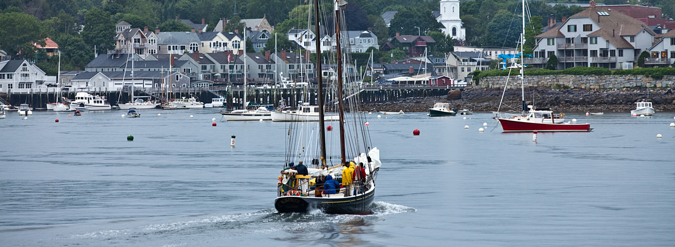 schooner charter in Maine