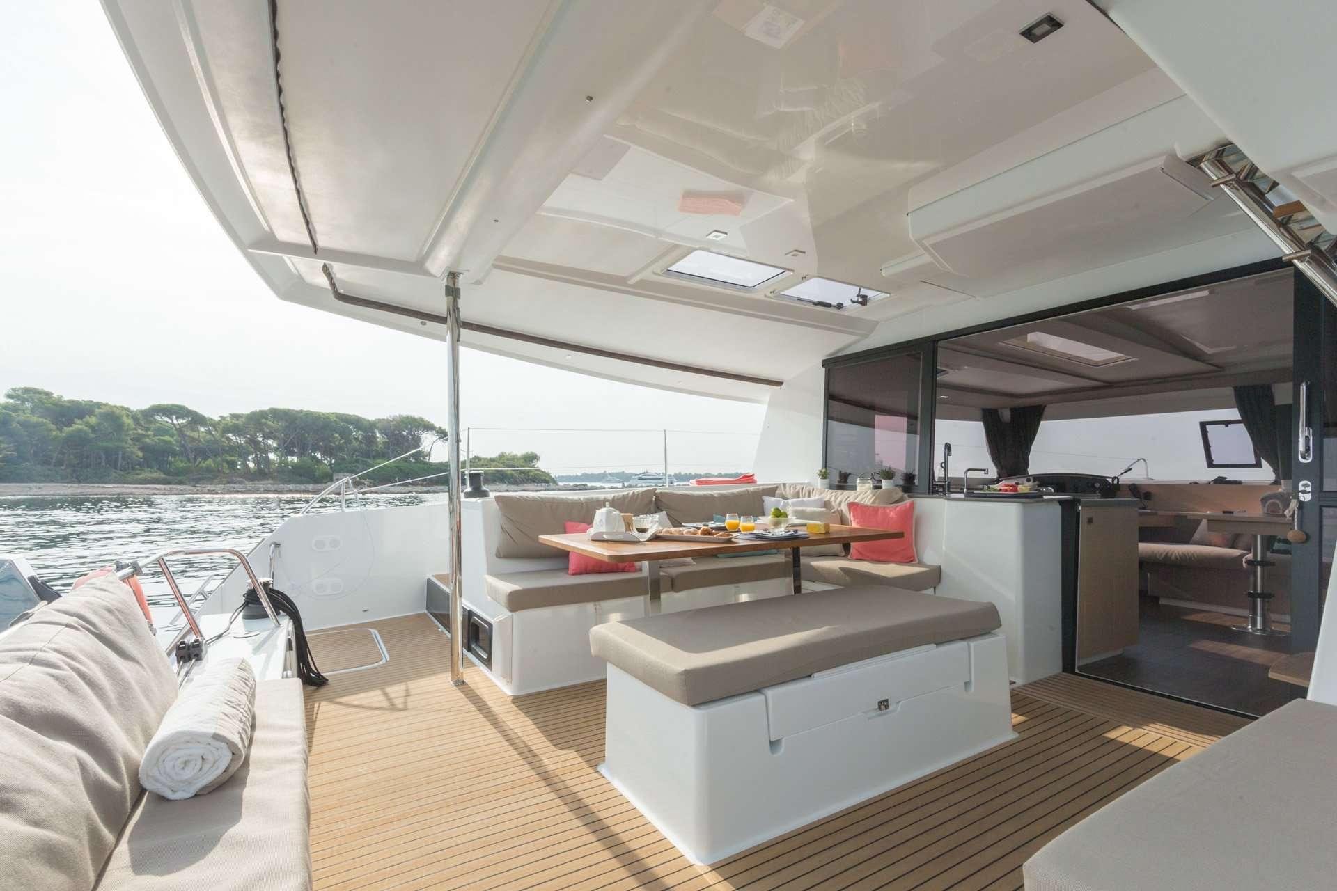 Cat Yacht 'Cat', 4 PAX, 2 Crew, 44.00 Ft, 13.00 Meters, Built 2019, Fontaine Pajot, Refit Year