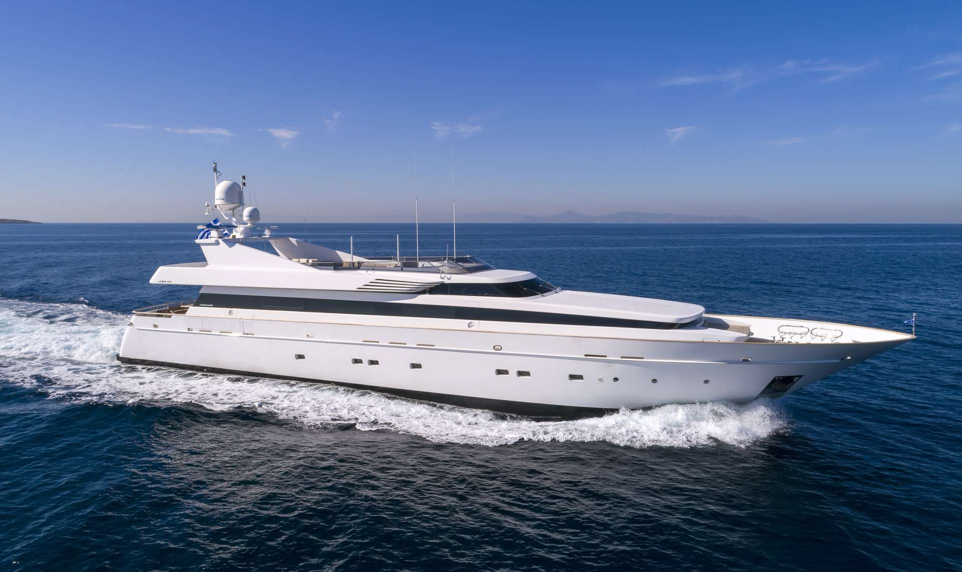 Power Yacht 'Power', 12 PAX, 8 Crew, 130.00 Ft, 39.00 Meters, Built 2004, Cantieri di Pisa, Italy, Refit Year 2010
