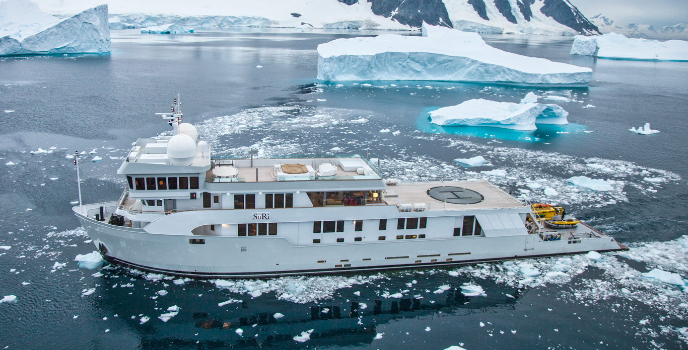 luxury expedition yacht charters Antarctica Siri