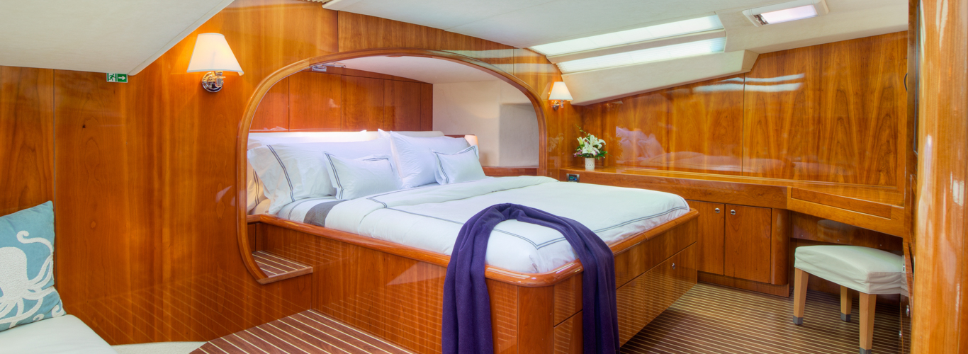 Master Suite onSailing Catamaran Charters