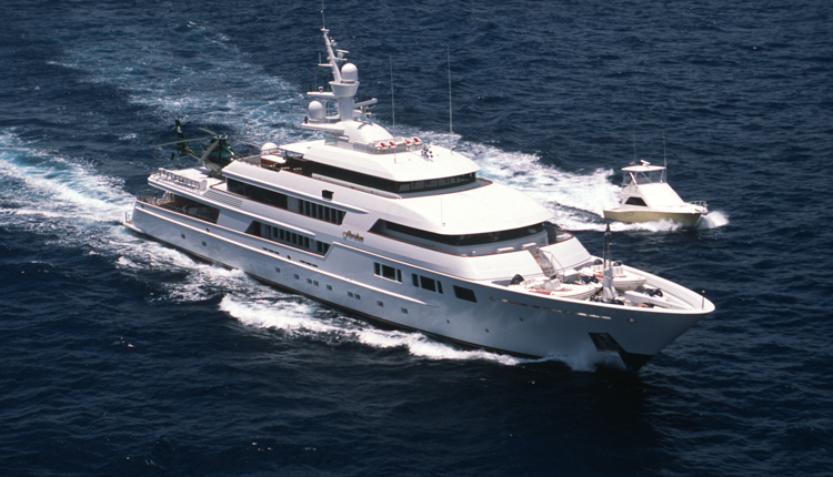 Superyacht Charter Underway in Antigua