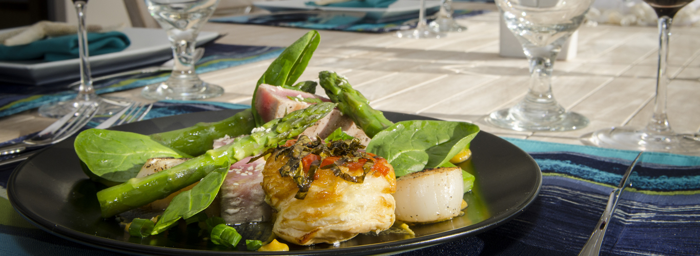 Cuisine on Sailing Catamaran Charters