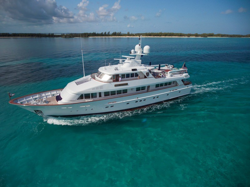 Power Yacht 'Power', 8 PAX, 5 Crew, 120.00 Ft, 36.00 Meters, Built 1991, Feadship, Refit Year 2019