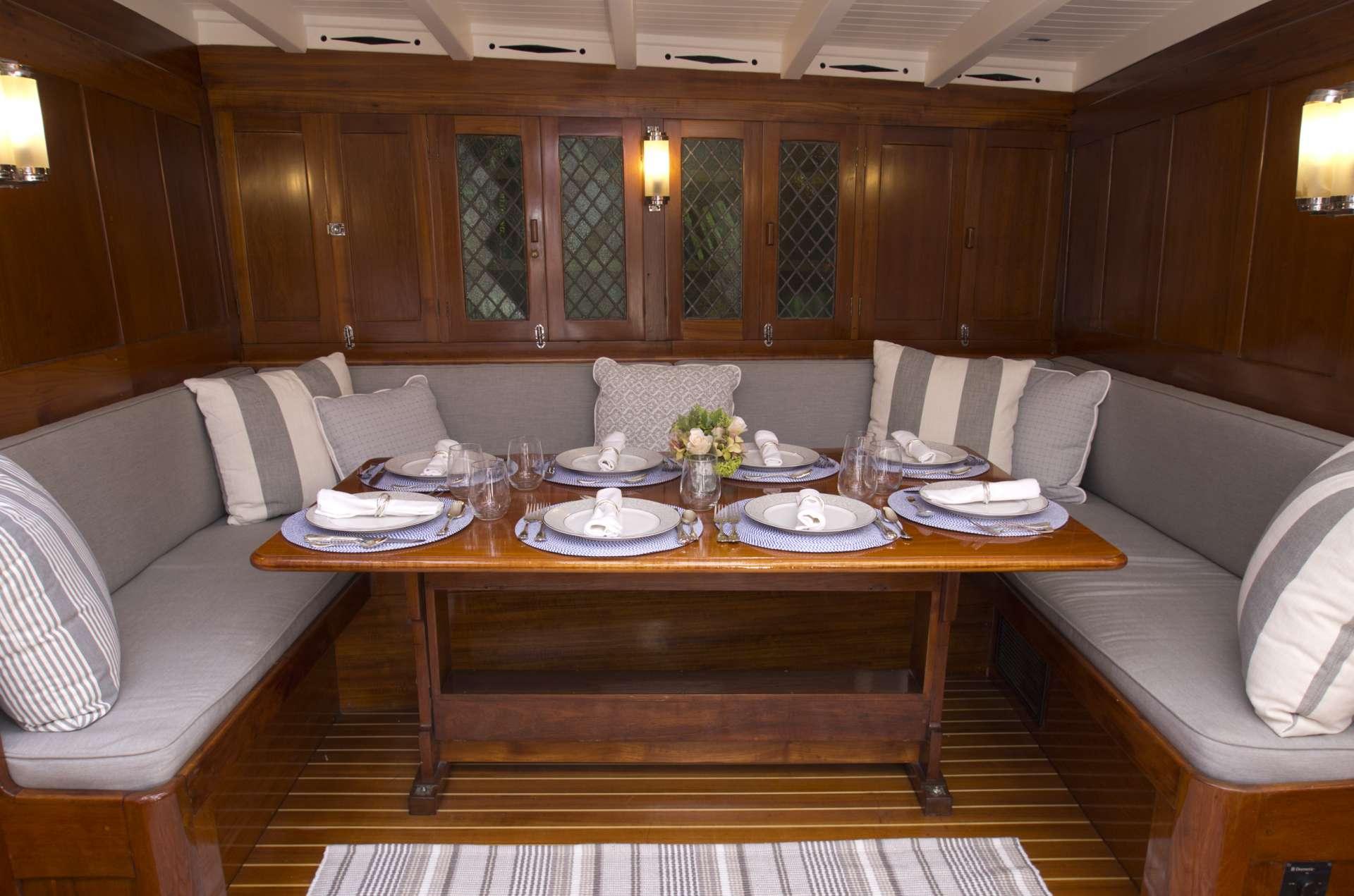 Sail Yacht 'Sail', 10 PAX, 5 Crew, 115.00 Ft, 35.00 Meters, Built 1939, Brooks Motor Craft, Lowestoft, England, Refit Year 2019