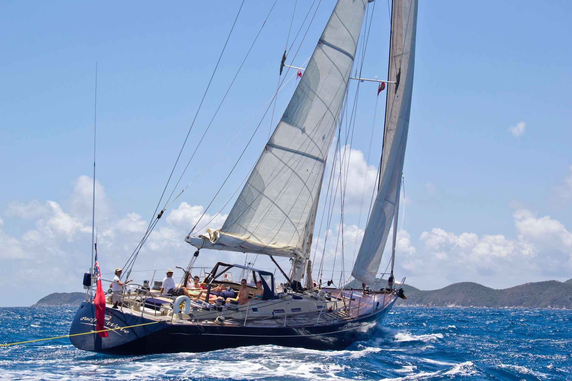 Sail Yacht 'Sail', 6 PAX, 2 Crew, 72.00 Ft, 21.00 Meters, Built 1986, Giorgetti & Magrini/Yacht Officine Pesaro SRL, Refit Year Full Refit 2015