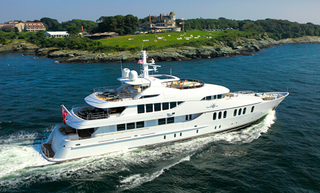 New England Charter yacht