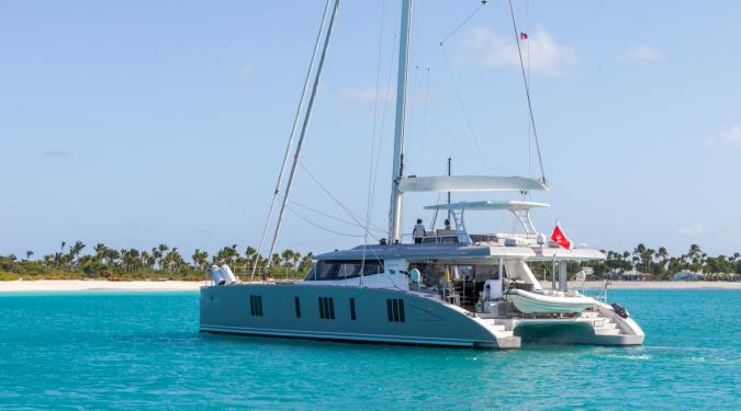 catamaran charter in the Bahamas