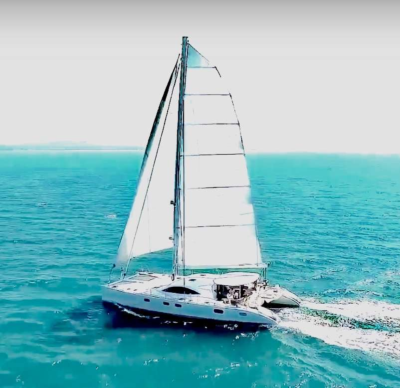 Cat Yacht 'Cat', 8 PAX, 2 Crew, 72.00 Ft, 21.00 Meters, Built 2017, Serenity Shipyard, Refit Year