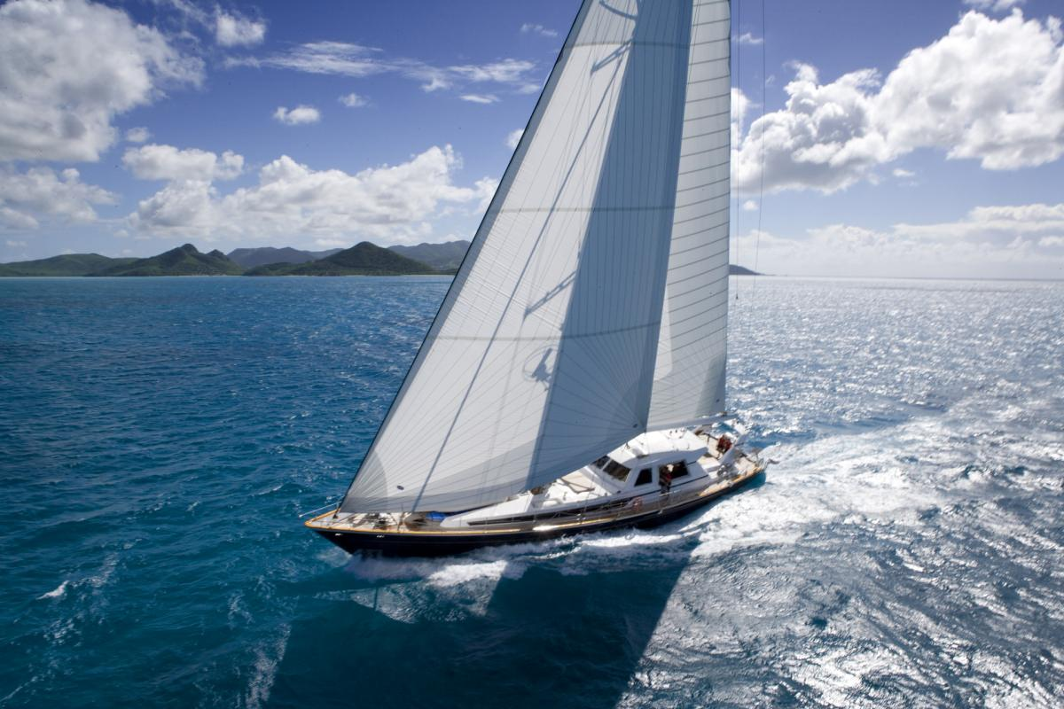 Sail Yacht 'Sail', 10 PAX, 6 Crew, 115.00 Ft, 35.06 Meters, Built 1996, Valdettaro Shipyards, Italy, Refit Year 2011