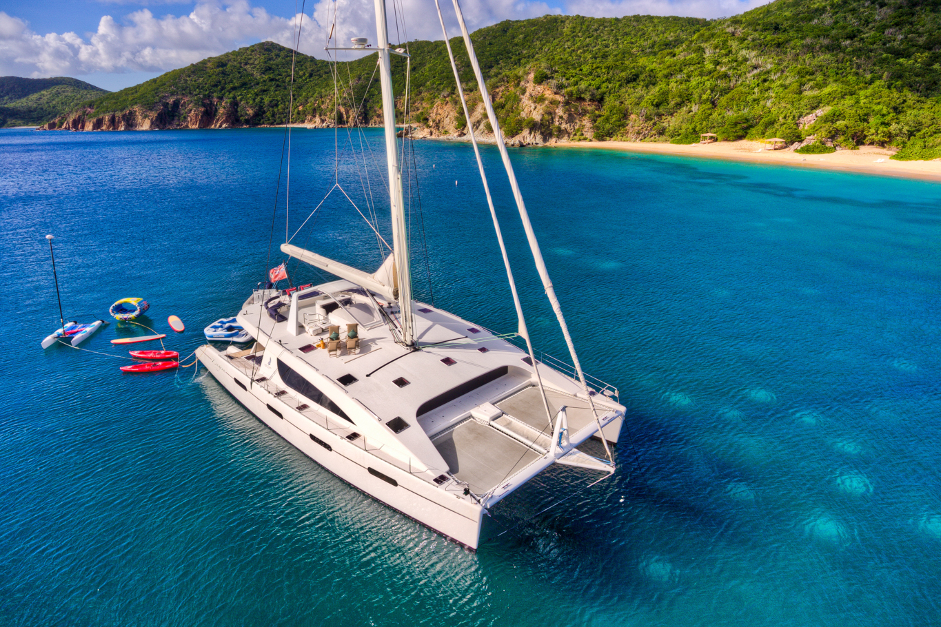 10-person BVI Catamaran Charters - Ocean Getaways Yacht Charters