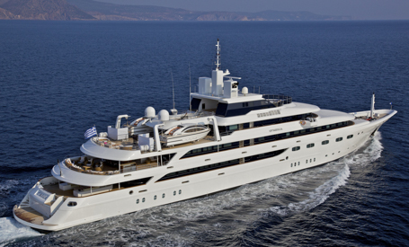 Larger Capacity Superyachts for Corporate groups