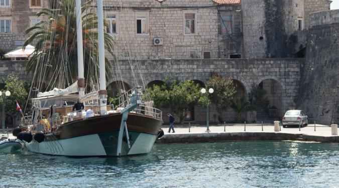 gulet yacht charter in Trogir Croatia