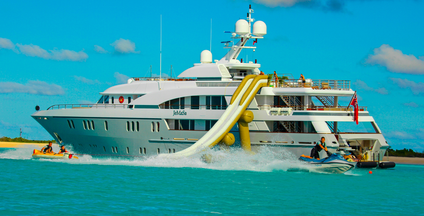 Superyacht toys on Luxury yacht charters in St. Martin