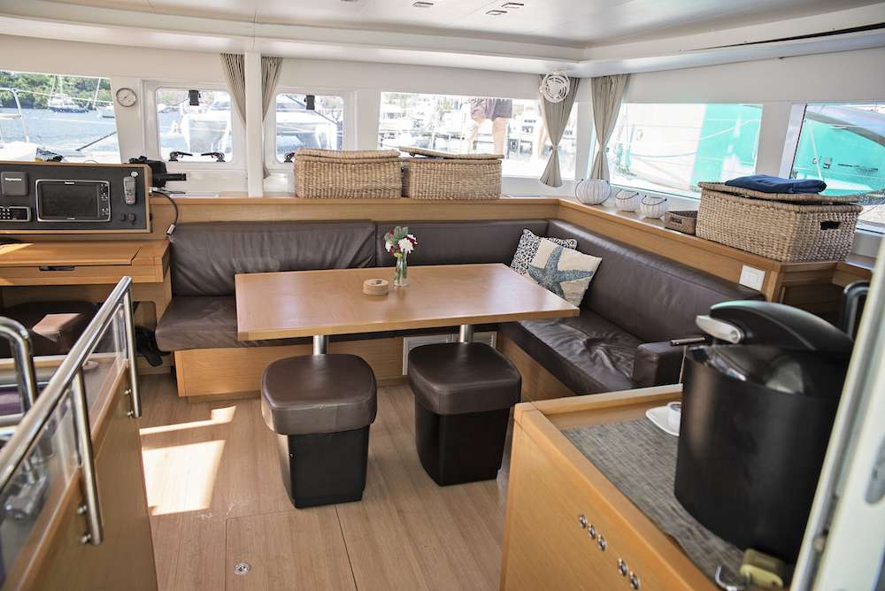 Cat Yacht 'Cat', 6 PAX, 2 Crew, 45.00 Ft, 13.00 Meters, Built 2014, Lagoon, Refit Year