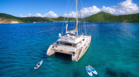 Charter the Super Catamaran - Xenia 74