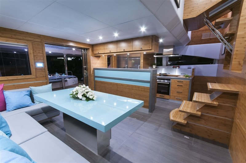Cat Yacht 'Cat', 9 PAX, 3 Crew, 70.00 Ft, 21.00 Meters, Built 2012, Sunreef Yachts, Refit Year