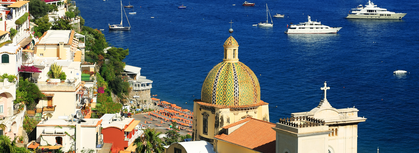 Italy - Amalfi Coast yacht vacations