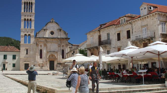 yacht charter guests in Dubrovnik
