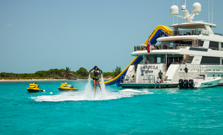 Superyacht Toys Provide Loads of Fun on Charter