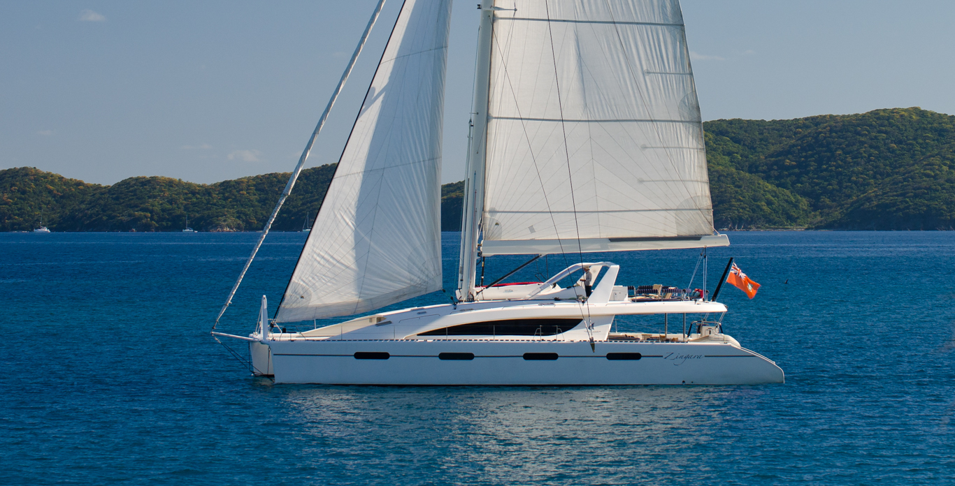 Zingara - sailing catamaran charter in the BVI
