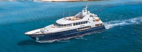 superyacht charter underway