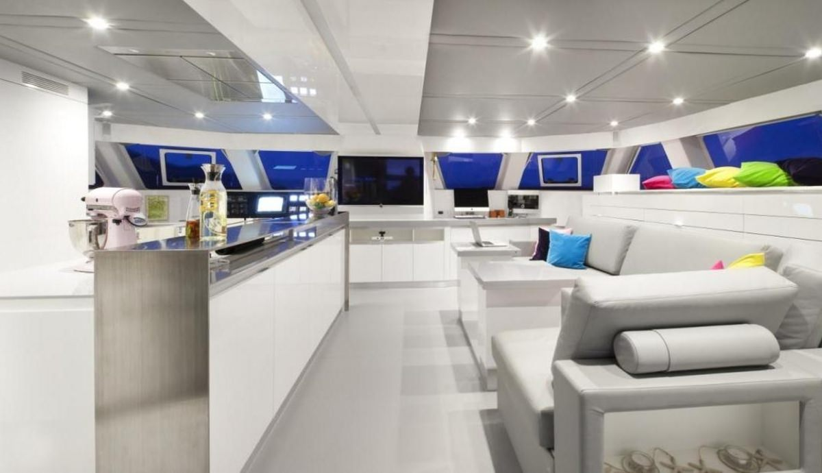 Cat Yacht 'Cat', 10 PAX, 3 Crew, 70.00 Ft, 21.00 Meters, Built 2013, Sunreef Yachts, Refit Year 2019