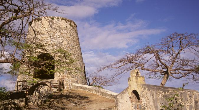 Sugar mill ruins St. John