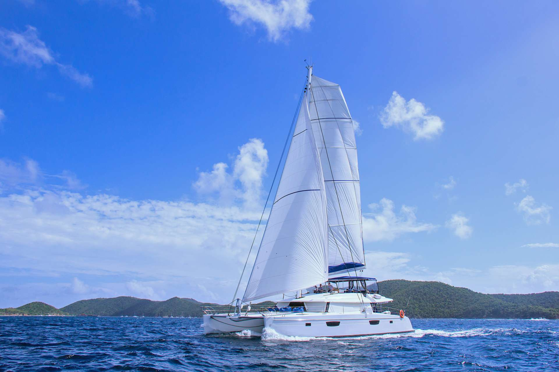 Cat Yacht 'Cat', 10 PAX, 3 Crew, 67.00 Ft, 20.00 Meters, Built 2017, Fountaine-Pajot, Refit Year The latest, 2020 electronics and equipment onboard. New larger tender June 2019