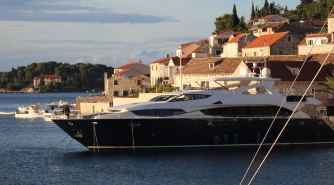 Super yacht charter Croatia