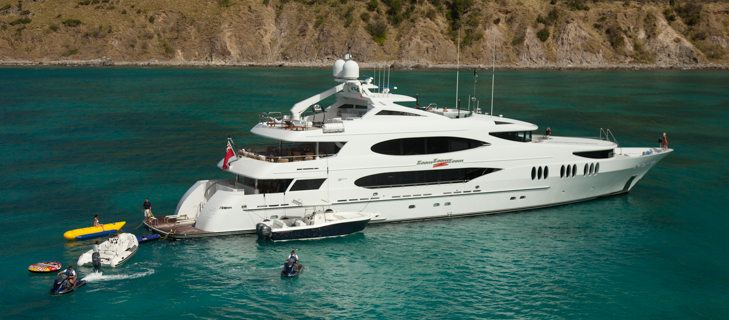 Luxury Superyacht charter
