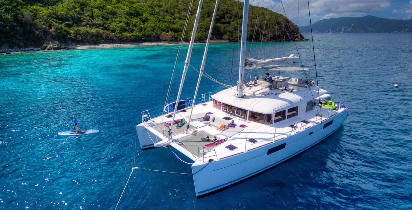 Virgin Islands Catamaran Charter - Sleepaboard Specials