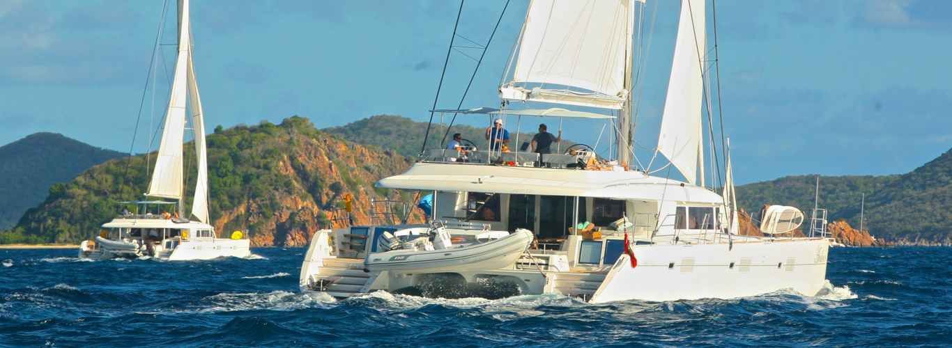 Sailing on a Catamaran Charter in the Virgin Islands
