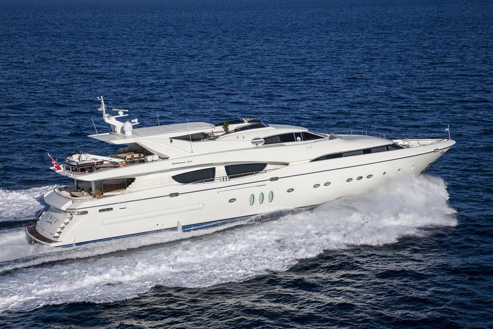 Power Yacht 'Power', 12 PAX, 7 Crew, 120.00 Ft, 36.00 Meters, Built 2009, Posillipo, Refit Year 2017
