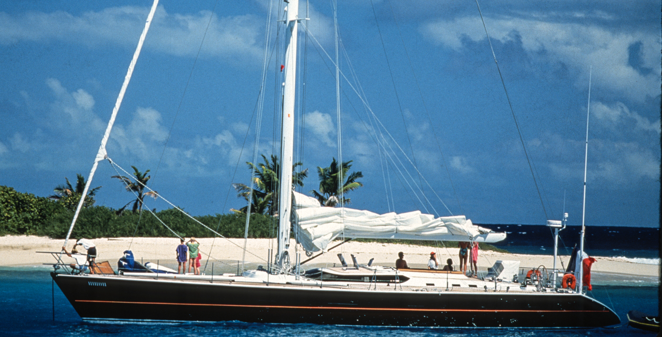 luxury sailing yacht charter in the BVI