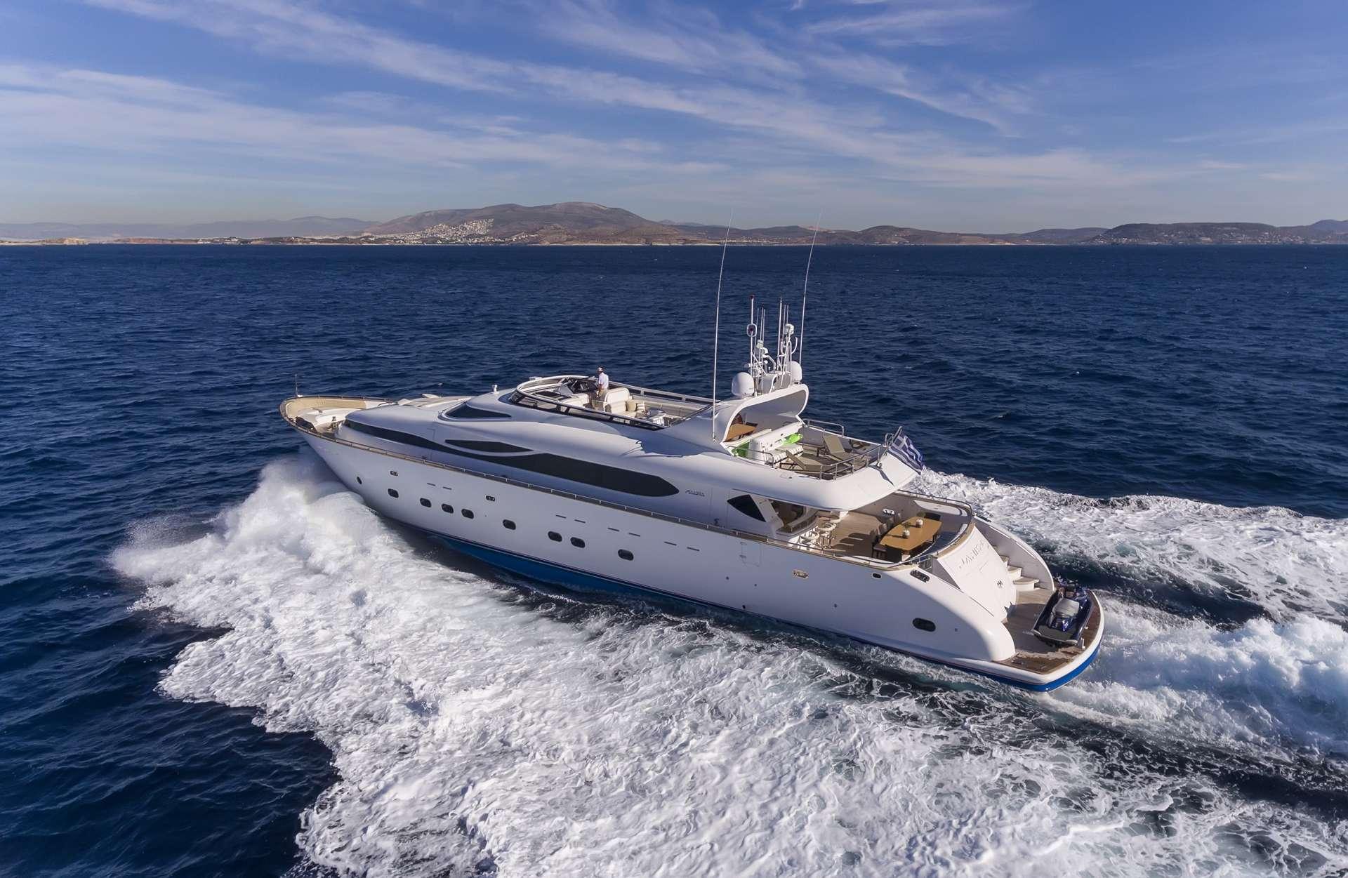 Power Yacht 'Power', 12 PAX, 6 Crew, 115.00 Ft, 35.06 Meters, Built 2009, Majora, Refit Year 2013