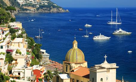 Italy – Amalfi Coast Yacht Charters