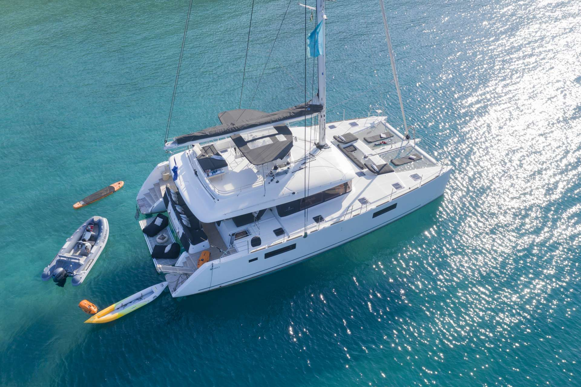 Cat Yacht 'Cat', 10 PAX, 3 Crew, 55.00 Ft, 17.00 Meters, Built 2018, Lagoon, Refit Year