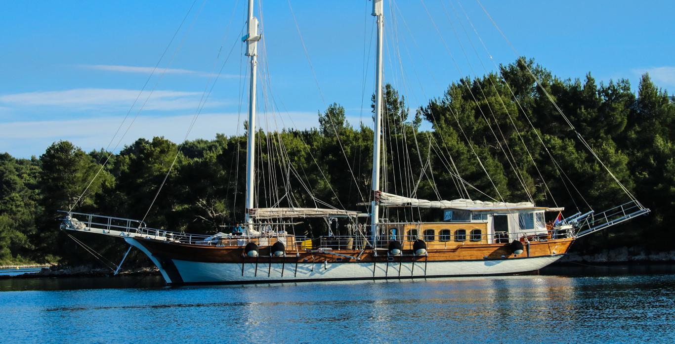 gulet yacht charters in Croatia