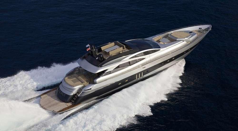 Power Yacht 'Power', 10 PAX, 5 Crew, 90.00 Ft, 27.44 Meters, Built 2009, Pershing, Refit Year 2014