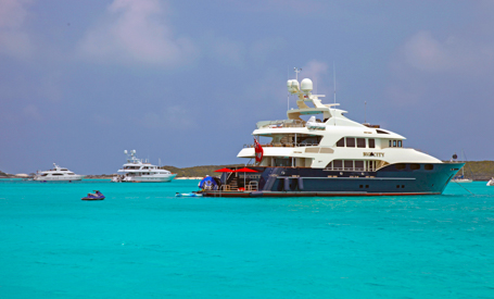 Bahamas Corporate charter yacht