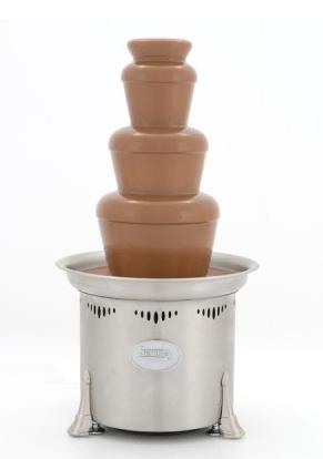 sephra chocolate fountain instructions