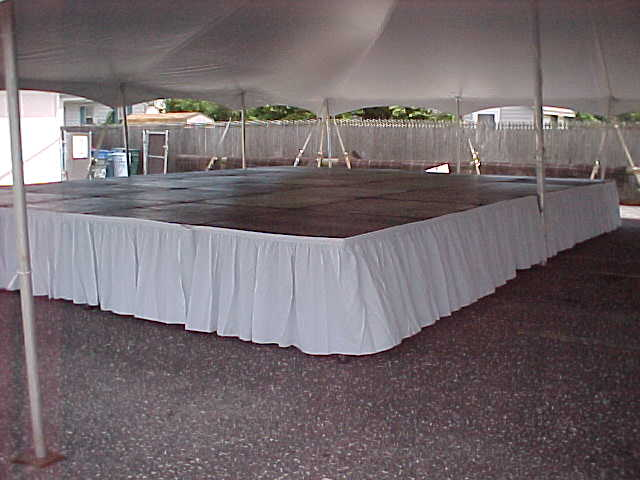 Ocean Tents Stage Skirting