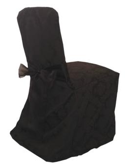 SKU bkdcc8.  sc 1 st  Ocean Tents & Ocean Tents-Black Kensington Damask Chair Cover