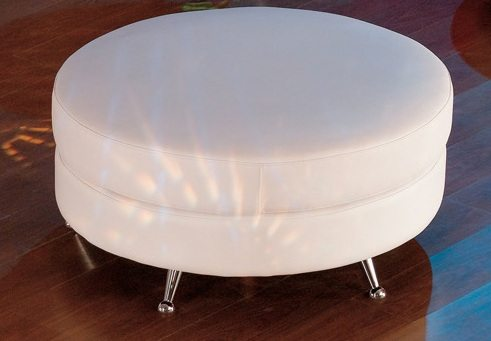 Ocean Tents 40 Quot Round Ottoman White