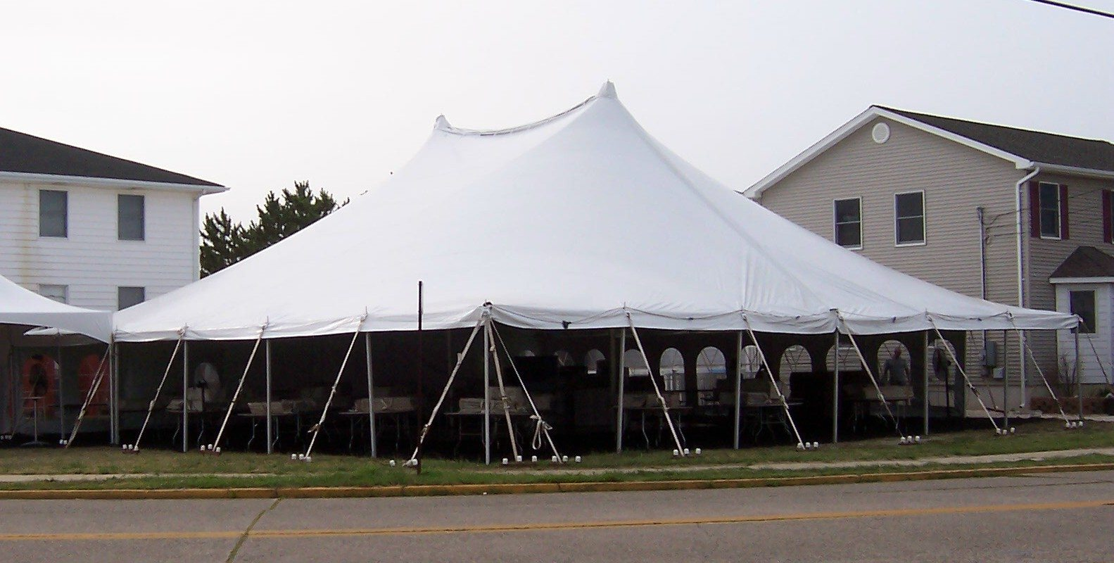 60 X60 Pole Tent Ocean Tents